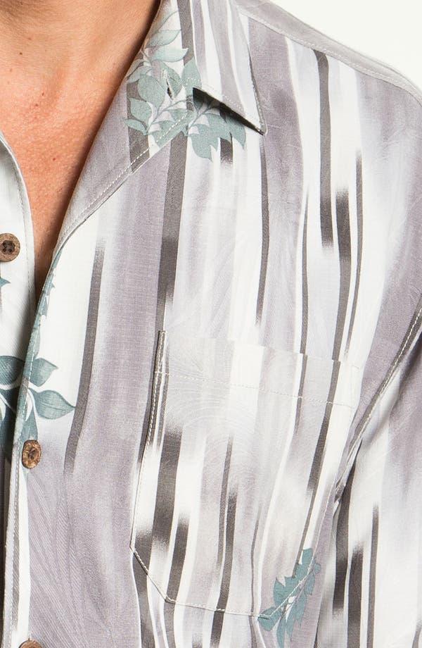 Alternate Image 3  - Tommy Bahama 'Lemongrass Ikat' Silk Campshirt