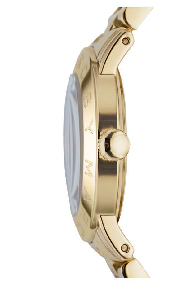 Alternate Image 3  - MARC JACOBS 'Amy' Crystal Bracelet Watch, 36mm