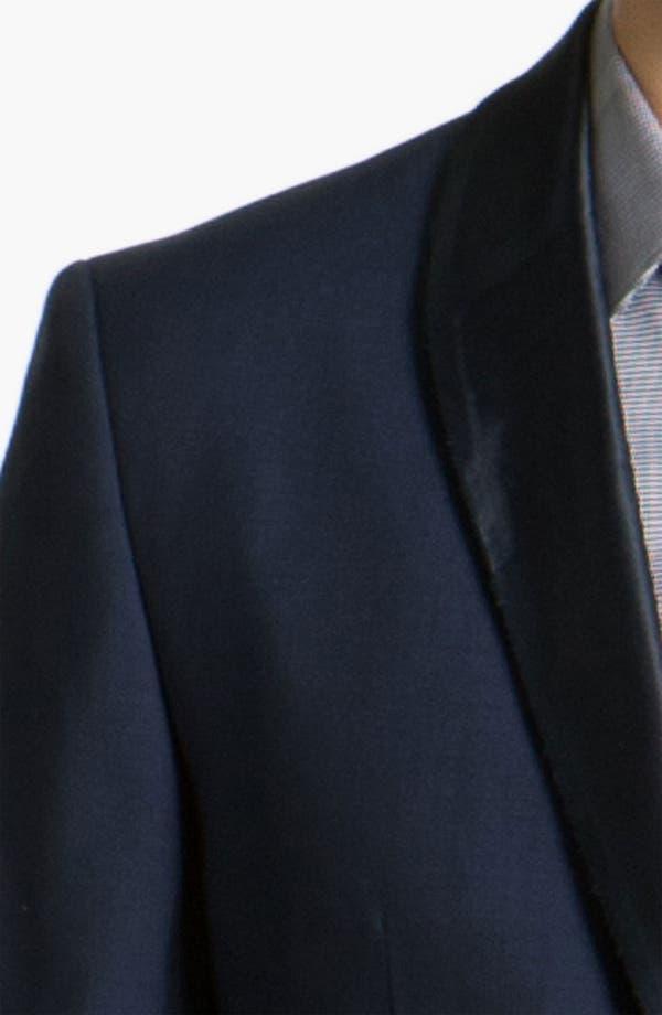 Alternate Image 6  - Ted Baker London Trim Fit Shawl Lapel Tuxedo