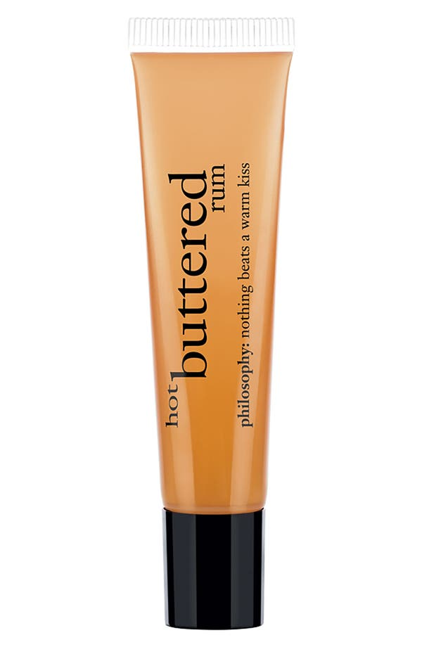 Main Image - philosophy 'hot buttered rum' lip shine