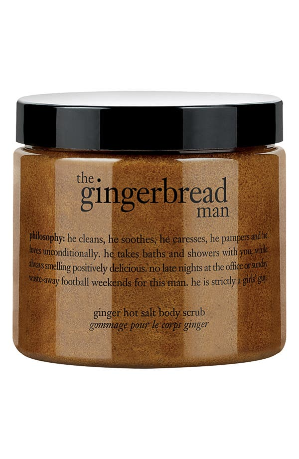 Alternate Image 1 Selected - philosophy 'the gingerbread man' hot salt body scrub
