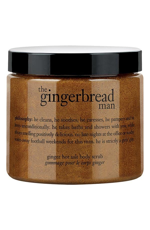 Main Image - philosophy 'the gingerbread man' hot salt body scrub