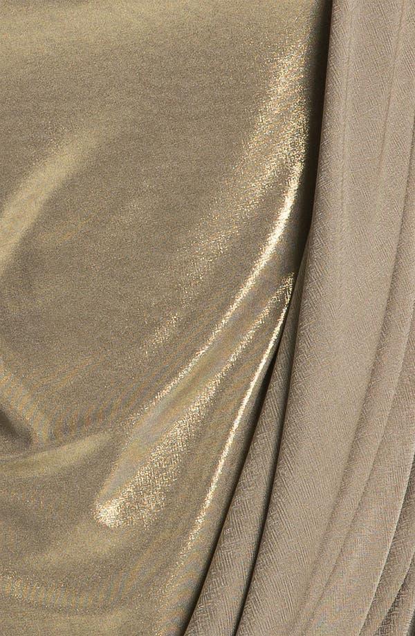 Alternate Image 3  - Bailey 44 Draped Metallic Top