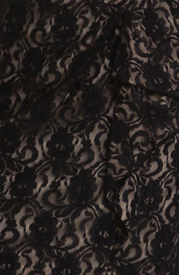 Alternate Image 3  - Maggy London Surplice Lace Sheath Dress