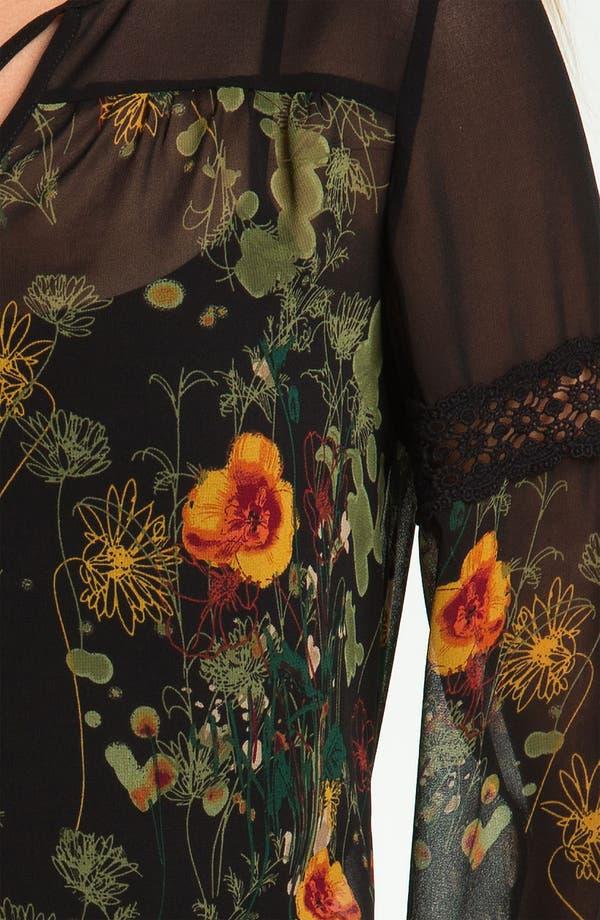 Alternate Image 3  - Kensie 'Airy Floral' Blouse (Online Exclusive)