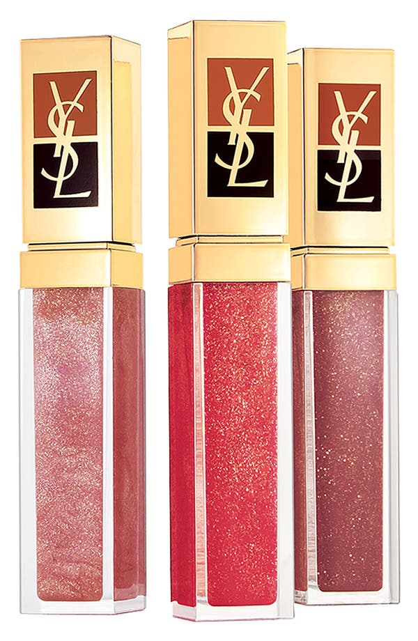 Alternate Image 1 Selected - Yves Saint Laurent 'Golden Gloss' Lip Gloss Set ($90 Value)