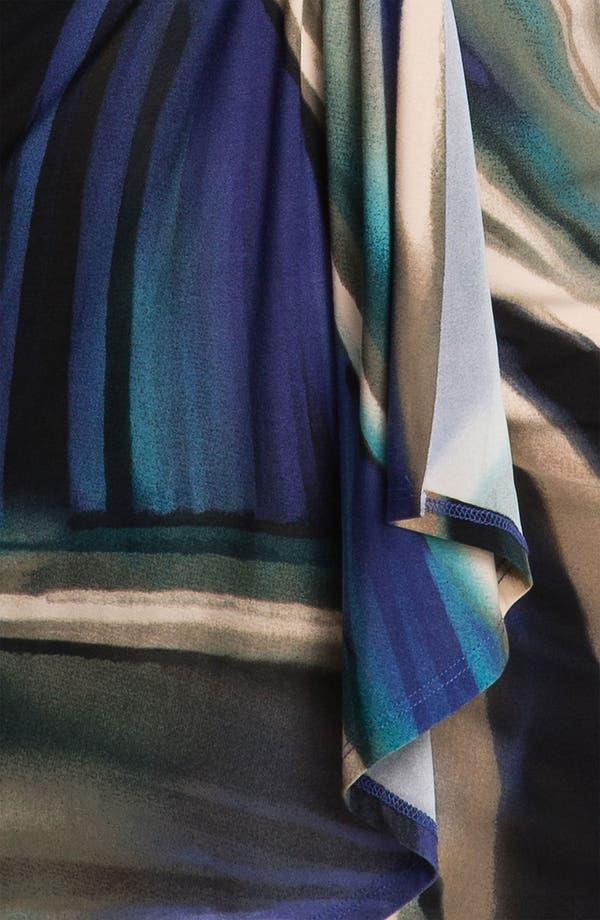 Alternate Image 3  - Karen Kane Print Faux Wrap Dress