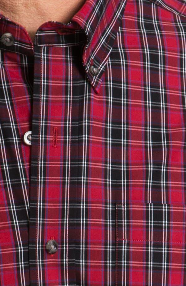Alternate Image 3  - Cutter & Buck 'Matterhorn' Plaid Sport Shirt