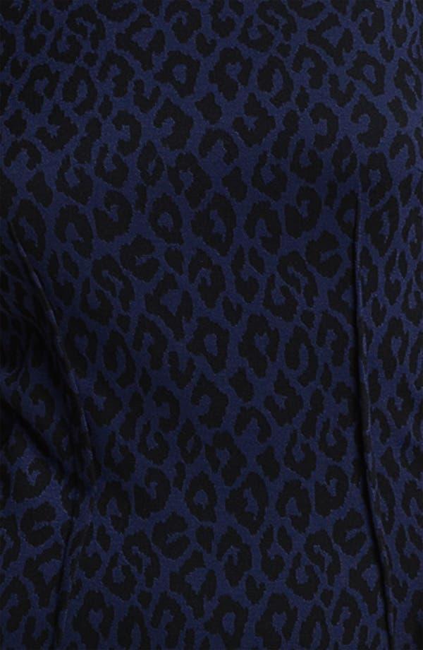 Alternate Image 3  - DKNYC Faux Leather Trim Dress