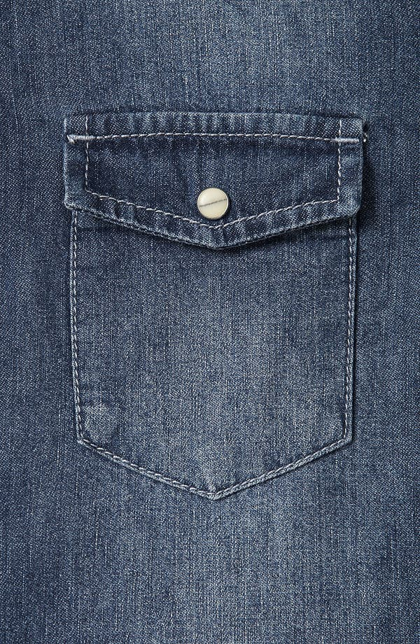 Alternate Image 3  - Topshop Moto 'Madison' Denim Shirt
