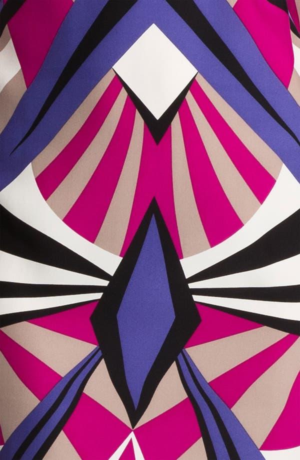 Alternate Image 3  - ALICE & TRIXIE 'Veronica' Print Silk Shift Dress