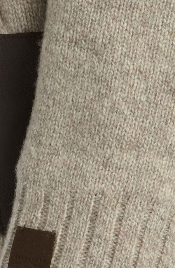 Alternate Image 2  - UGG® Australia Lambswool Fingerless Gloves