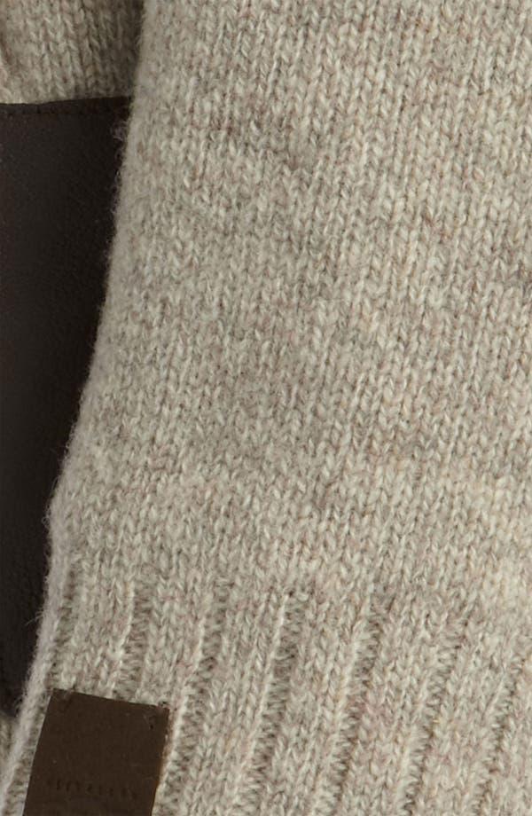 Alternate Image 2  - UGG® Australia Lambswool Fingerless Gloves