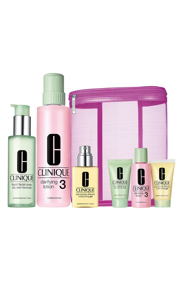 Main Image - Clinique 'Great Skin Home & Away' Skincare Set Combo/Oily ($85.50 Value)