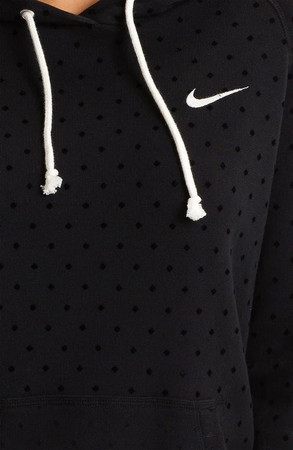 Alternate Image 3  - Nike 'Rally' Dot Print Hoodie