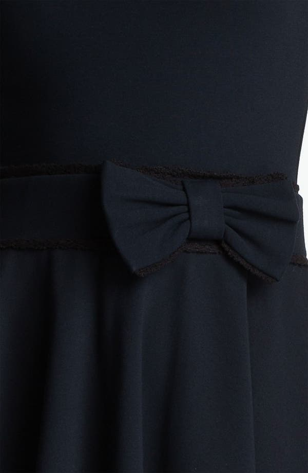 Alternate Image 3  - RED Valentino Bow Waist Jersey Dress