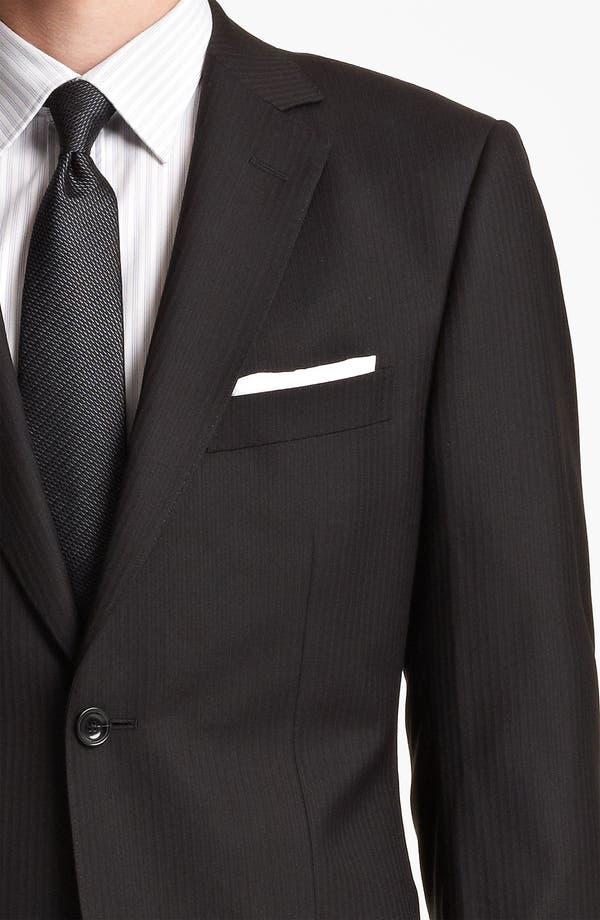 Alternate Image 6  - Z Zegna Trim Fit Herringbone Suit