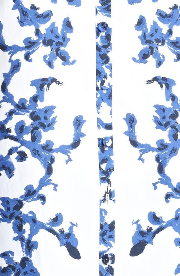 Alternate Image 3  - Erdem Print Woven Shirt