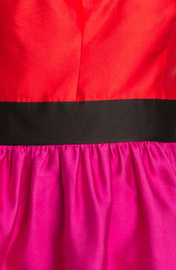Alternate Image 3  - kate spade new york 'normandy' silk blend fit & flare dress