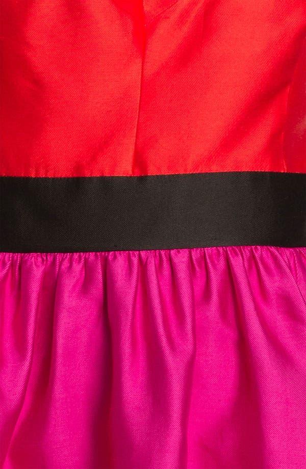 Alternate Image 3  - kate spade new york 'normandy' silk blend fit & flare dress
