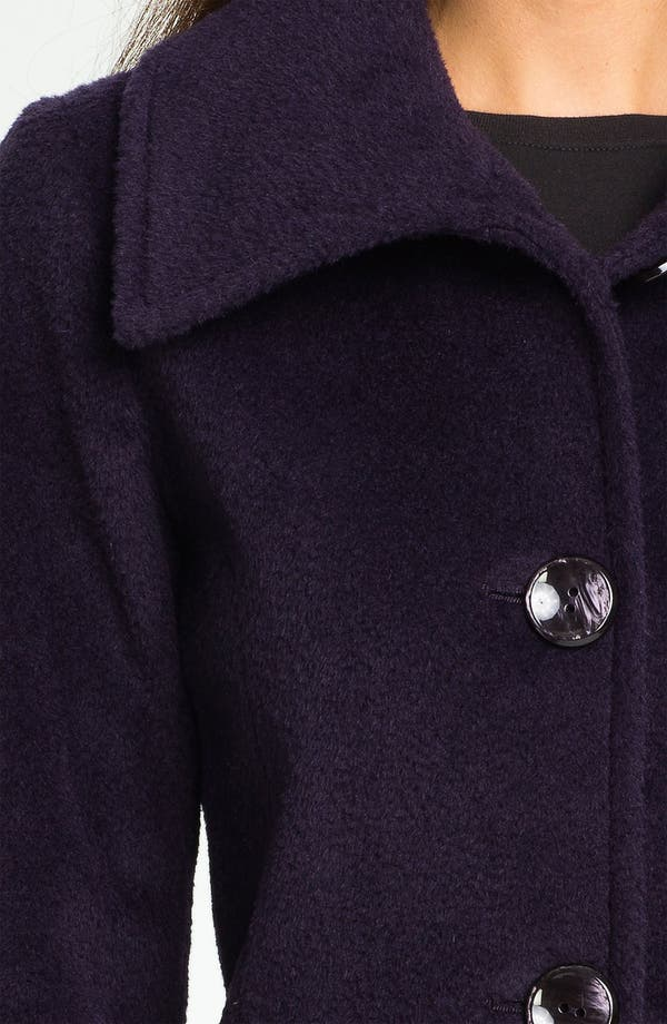 Alternate Image 3  - Ellen Tracy Wool & Alpaca Walking Coat (Nordstrom Exclusive)
