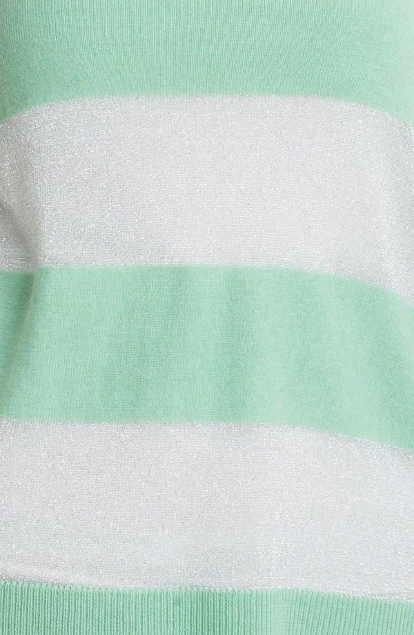 Alternate Image 3  - Vince Camuto Shimmer Stripe Knit Sweater