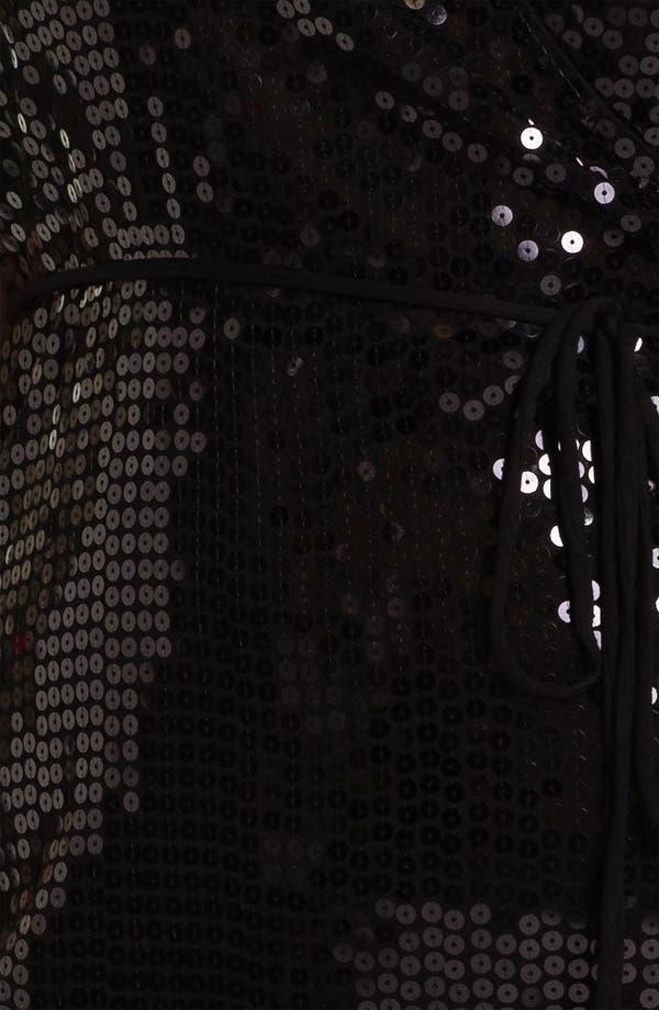 Alternate Image 3  - MICHAEL Michael Kors Sequin Wrap Dress (Plus)