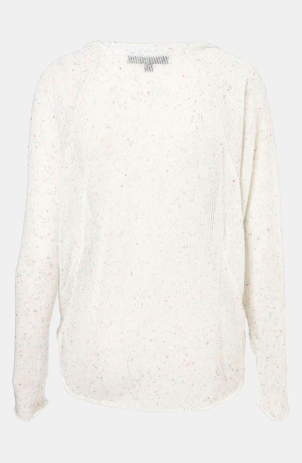 Alternate Image 2  - Topshop Confetti Speckle Sweater (Petite)
