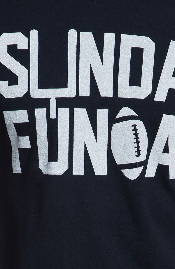 Alternate Image 3  - Kid Dangerous 'Sunday Funday Football' Graphic T-Shirt (Online Only)