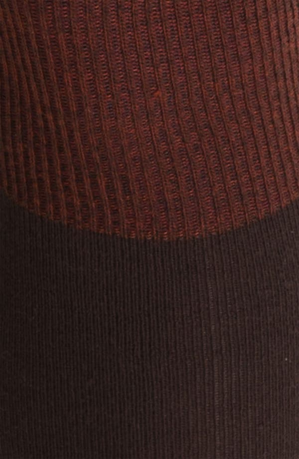 Alternate Image 2  - K. Bell Socks Colorblock Over-The-Knee Socks