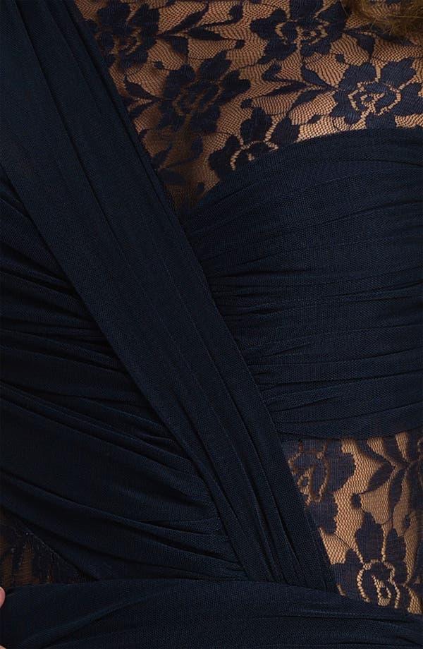 Alternate Image 3  - Keepsake the Label Sheer Sleeve Ruched Jersey Sheath Dress