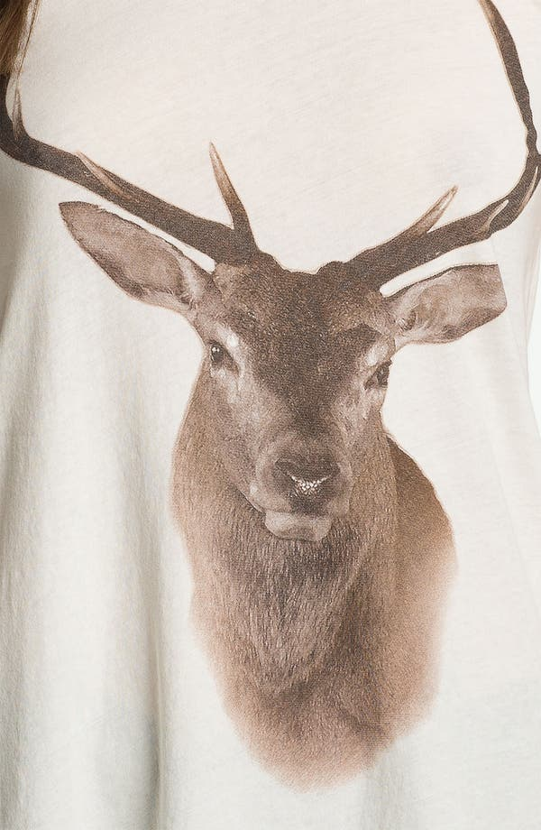 Alternate Image 3  - Wildfox 'Buck' Graphic Tee