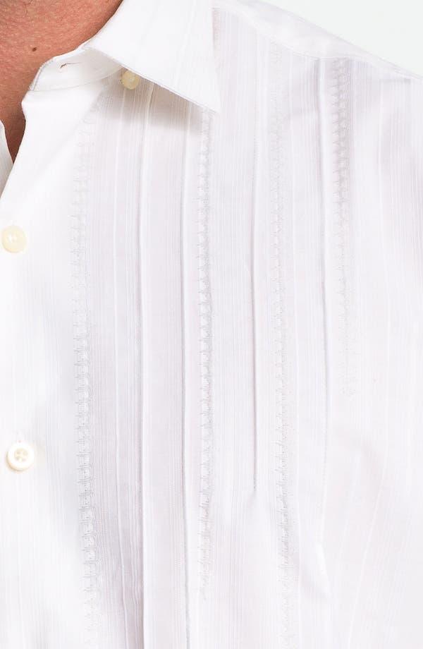 Alternate Image 3  - Tommy Bahama 'Pintux' Cotton & Silk Sport Shirt