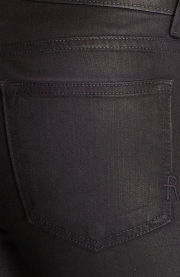 Alternate Image 3  - Rich & Skinny 'Legacy Leather' Faux Leather Skinny Jeans (Owl)