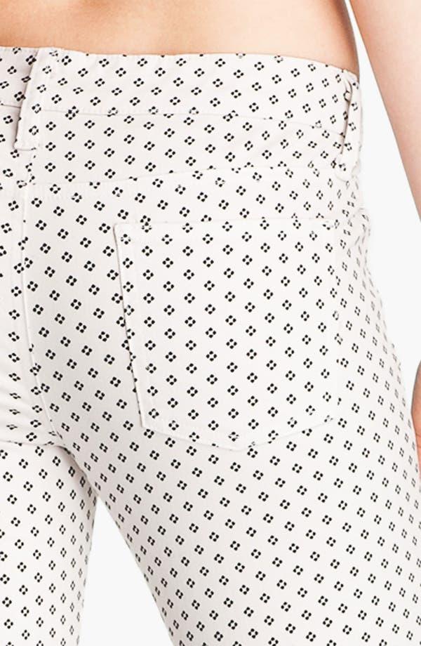 Alternate Image 3  - Splendid Print Skinny Jeans (Swan)