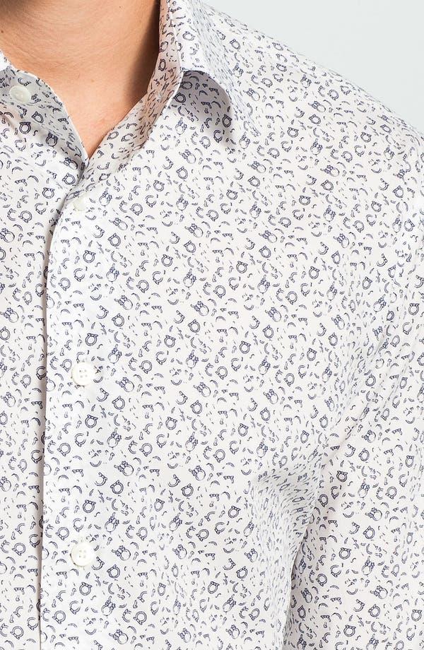 Alternate Image 3  - Salvatore Ferragamo Trim Fit Sport Shirt