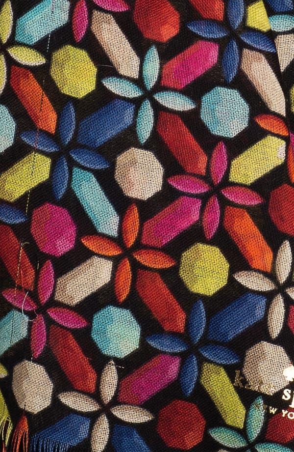 Alternate Image 2  - kate spade new york 'kaleidoscope gems' wool scarf