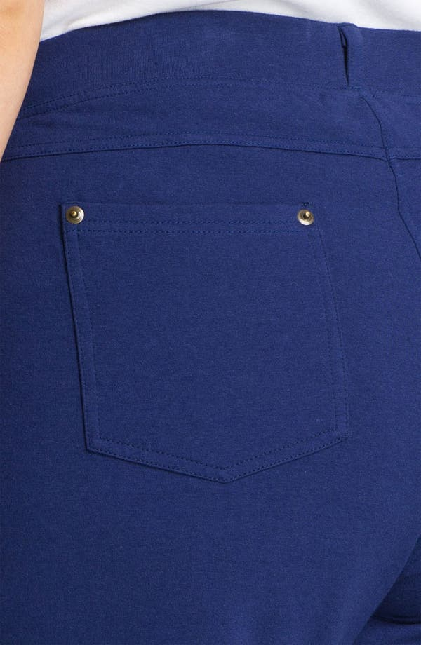 Alternate Image 3  - Sejour Faux Pocket Knit Pants (Plus)