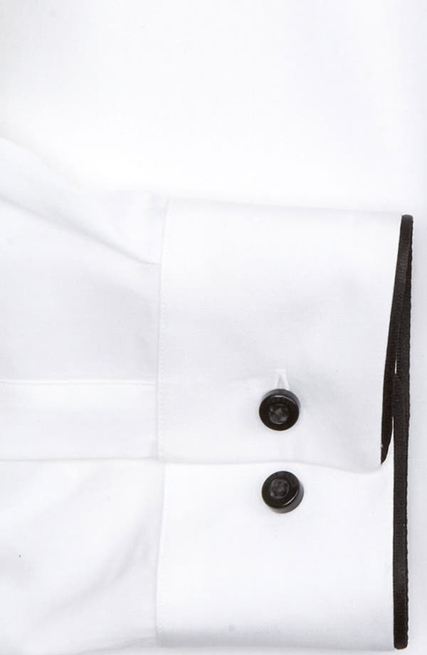 Alternate Image 3  - HUGO 'Excitex' Slim Fit Tuxedo Shirt