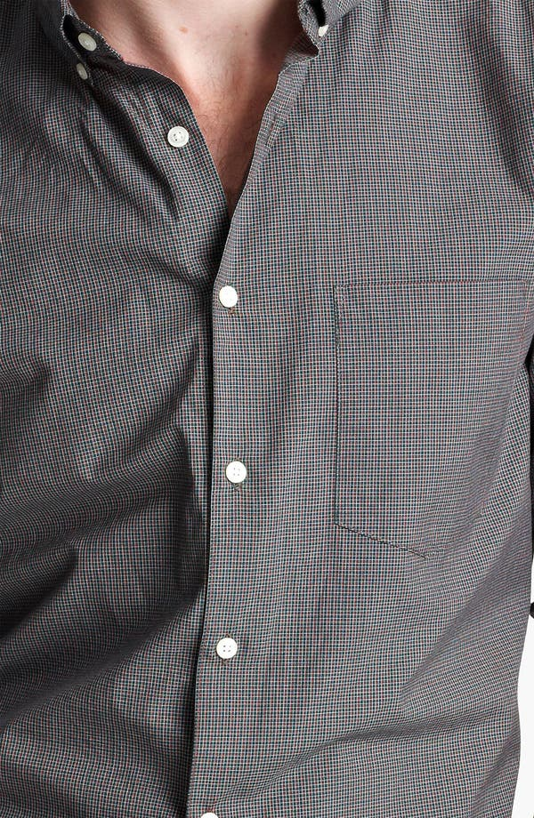Alternate Image 3  - Steven Alan Micro Check Sport Shirt