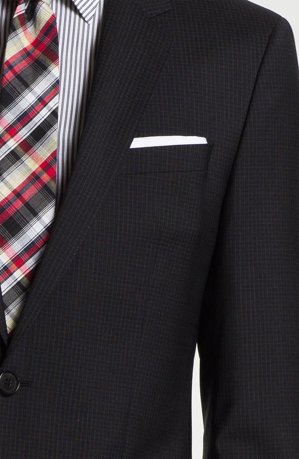 Alternate Image 6  - BOSS Black 'Huge/Genius' Trim Fit Suit