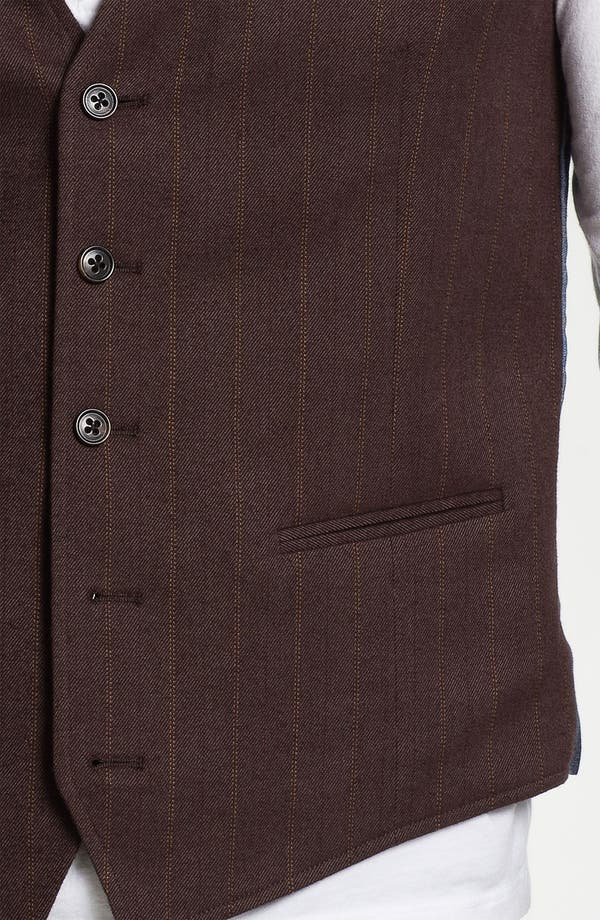 Alternate Image 3  - 1901 Cotton Vest