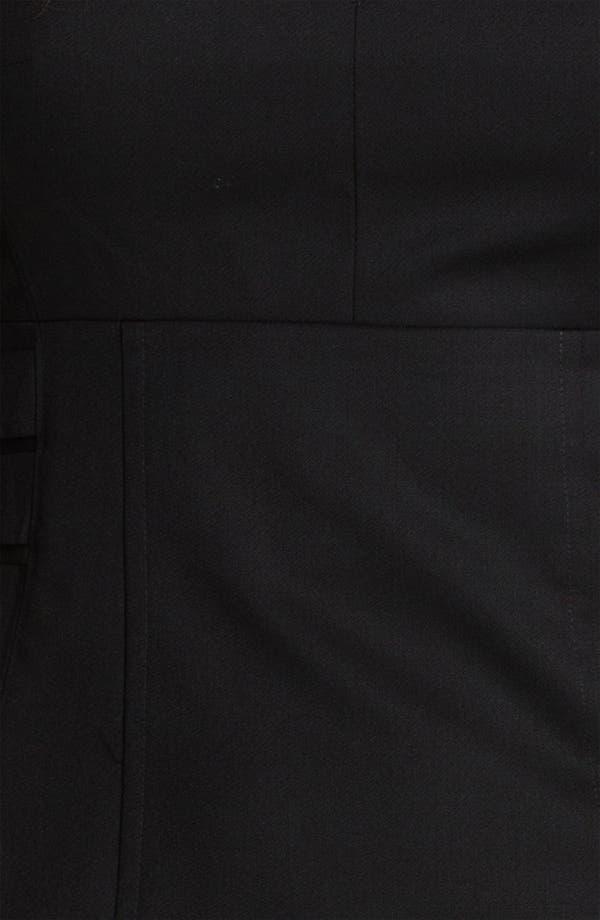 Alternate Image 3  - Ted Baker London 'Agned' Wool Blend Sheath Dress