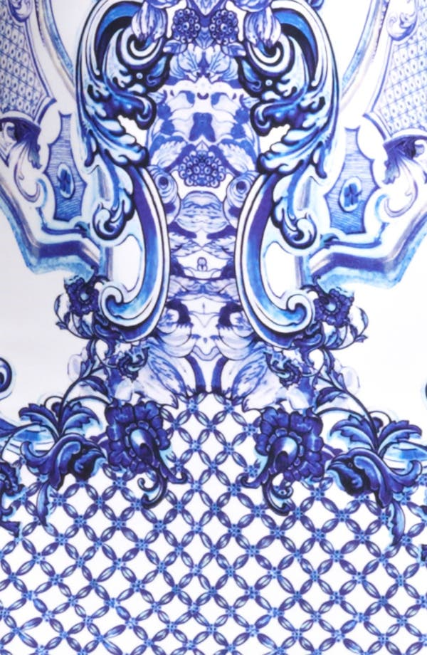 Alternate Image 3  - Roberto Cavalli Print Punto Milano Dress