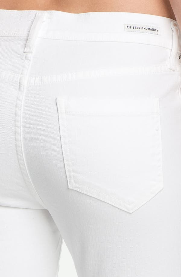 Alternate Image 3  - Citizens of Humanity 'Carlton' High-Waist Slim Straight Leg Ankle Jeans (Santorini)