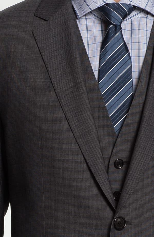 Alternate Image 6  - BOSS Black 'James/Sharp' Trim Fit Three Piece Suit