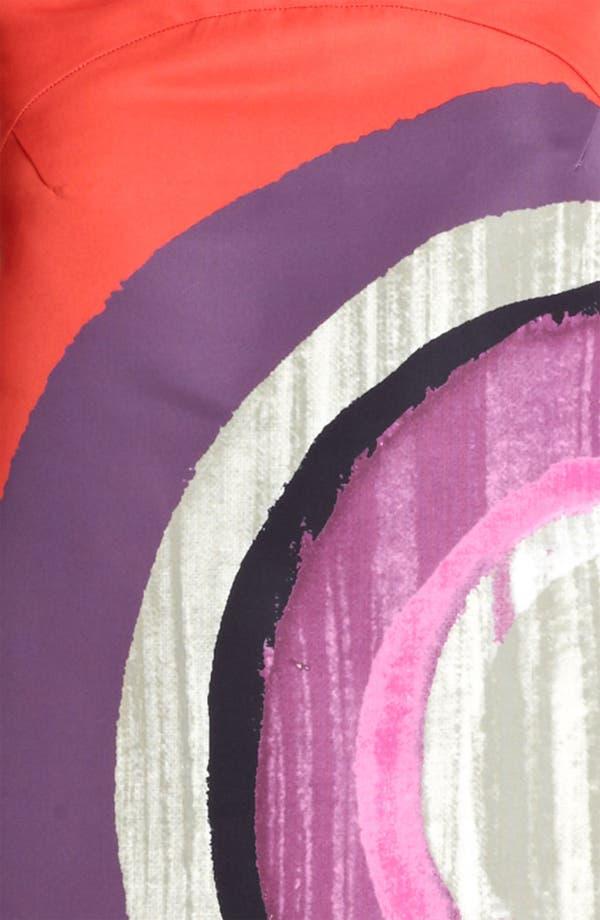 Alternate Image 3  - Piazza Sempione Circle Print Stretch Cotton Dress