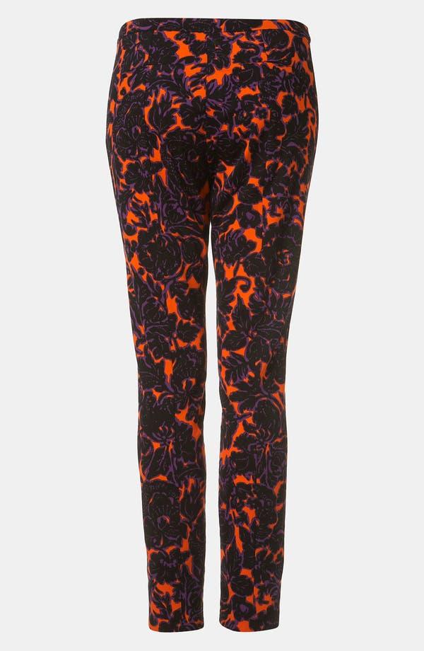 Alternate Image 2  - Topshop 'Dandy' Floral Print Skinny Pants