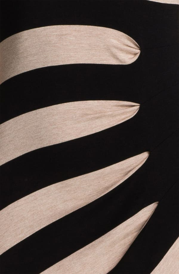 Alternate Image 3  - Calvin Klein Asymmetrical Stripe Maxi Tank Dress