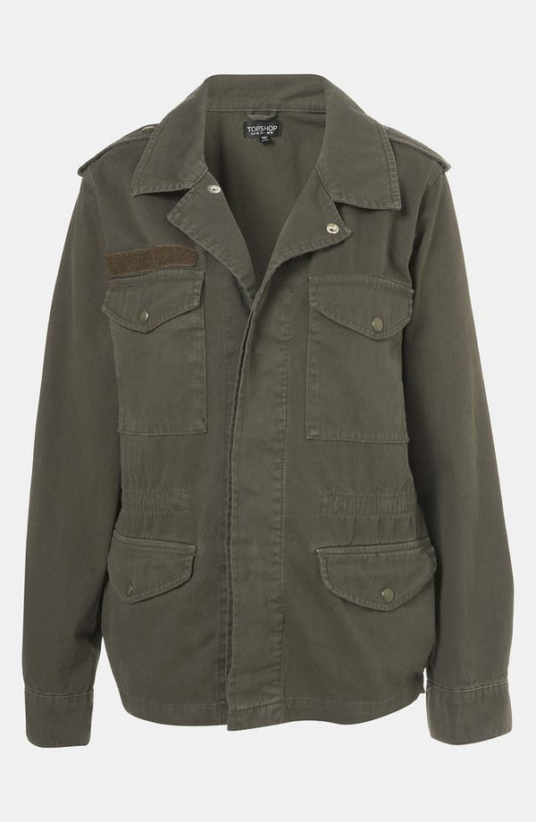 Alternate Image 1 Selected - Topshop Military Jacket